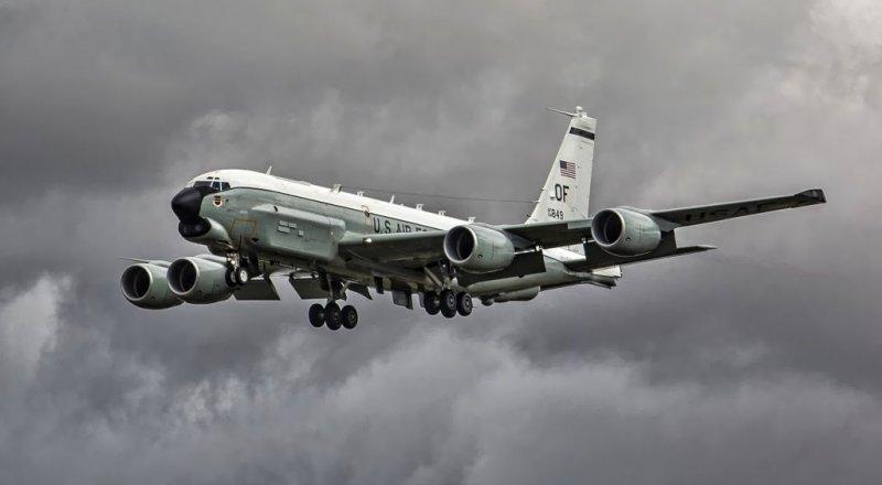 ABD'YE AİT ''RC-135U'' UÇAĞI, SURİYE'DEKİ RUS ÜSLERİNİN YAKININDA KEŞİF UÇUŞU YAPTI