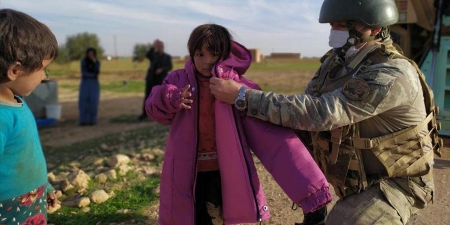 Msb'den Barış Pınarı Bölgesindeki İhtiyaç Sahiplerine Yardım