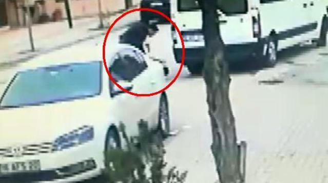 Yol verme tartışmasında sürücüyü silahla vuran şahsın rahat tavrı dikkat çekti