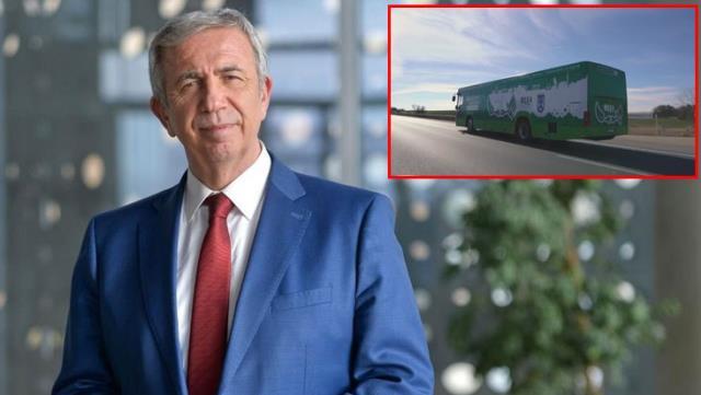 Türkiye'de bir ilk! Ankara Büyükşehir Belediyesi'nin elektrikli otobüsü yola çıktı