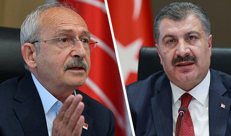 Fahrettin Koca'dan, Kılıçdaroğlu'nun iddialarına yanıt