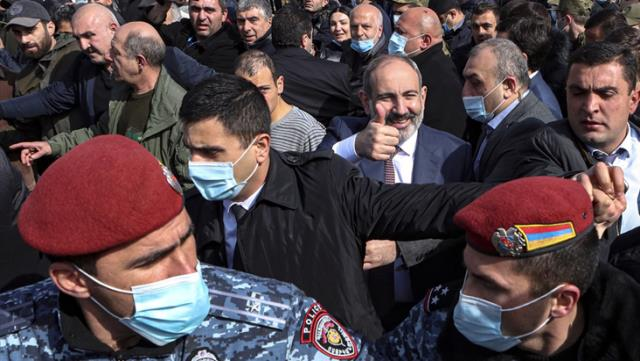 Ermenistan'daki darbe girişimine ilişkin Türkiye'den ilk açıklama: Nerede olursa olsun darbeye karşıyız