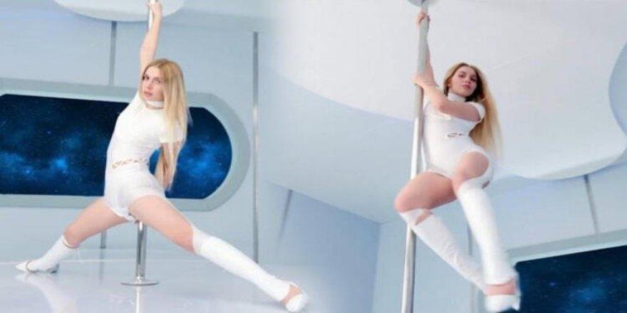 Aleyna Tilki direk dansı ile gündem oldu