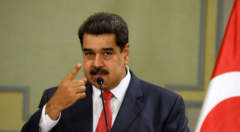 NICOLAS MADURO: ''TRUMP VENEZUELLA'YI SAPLANTI HALİNE GETİRDİ''