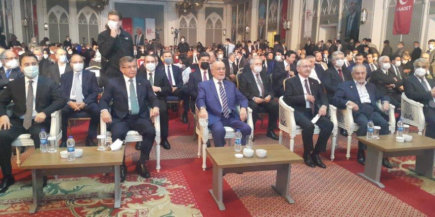 Erbakan liderleri buluşturdu