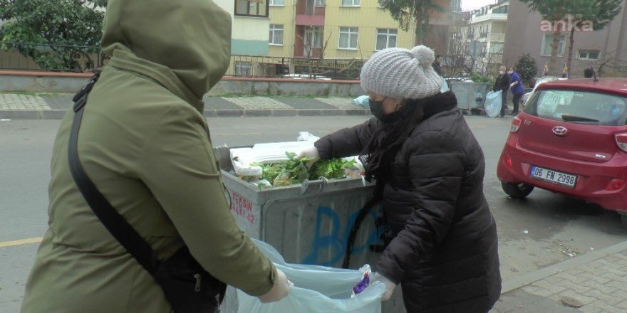 Maltepe'deki çöpleri İBB ekipleri topladı