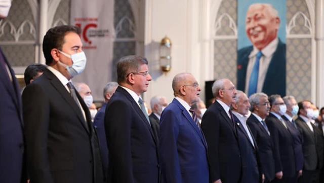 Necmettin Erbakan'ı anma programı iktidar ve muhalefet partilerini bir araya getirdi, MHP'den katılım olmadı