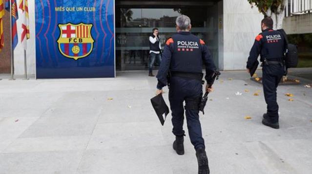 Barcelona'da yolsuzluk operasyonu! Gözaltılar var!