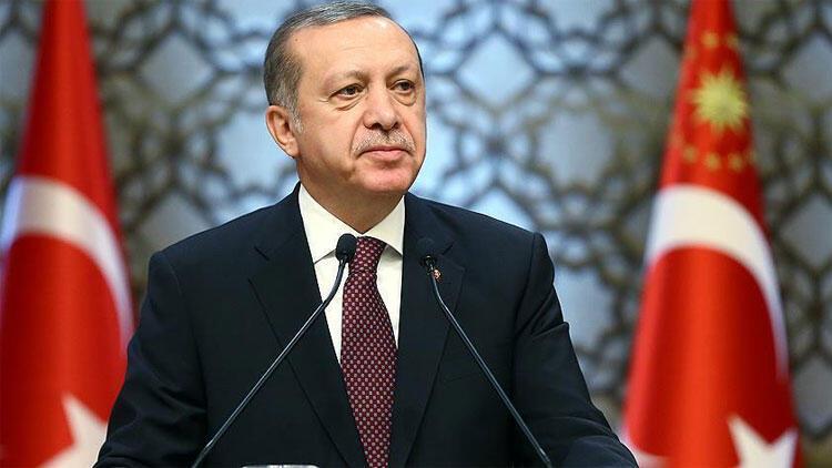 Cumhurbaşkanı Recep Tayyip Erdoğan'ın açıklaması.