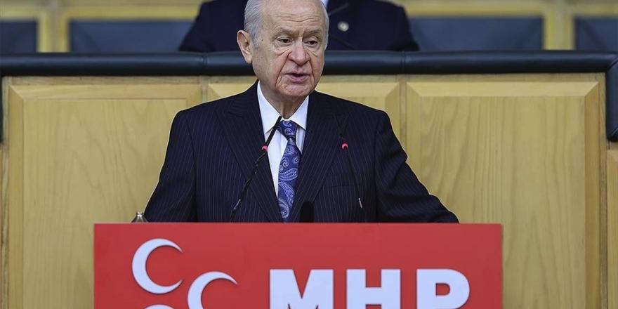 Mhp Genel Başkanı Bahçeli'nin Açıklamaları: