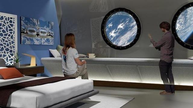 Uzay oteli, ilk konuklarını 2027 yılında ağırlayacak
