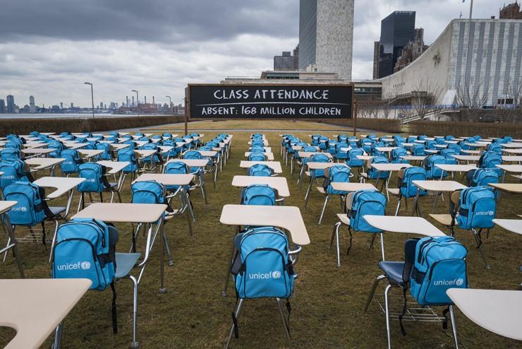 UNICEF: Salgın nedeniyle 168 milyondan fazla çocuğun okulu bir yıldır kapalı