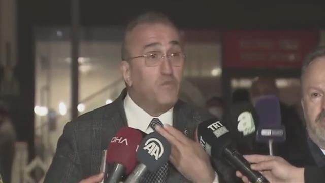 Abdurrahim Albayrak kaybedilen Ankaragücü maçı sonrası hakeme ateş püskürdü
