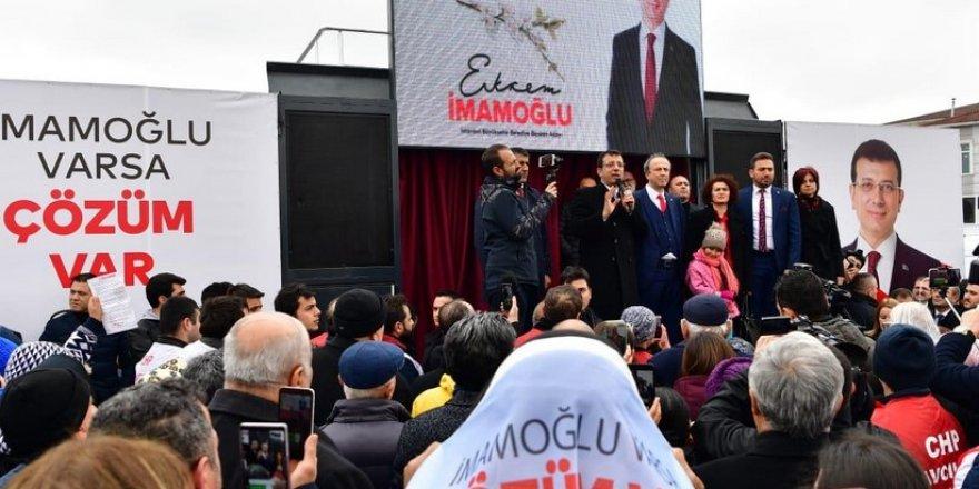 """İmamoğlu: """"1 Nisan'da AKP'li belediye başkanları iyi ki bu adam seçilmiş diyecek çünkü..."""""""