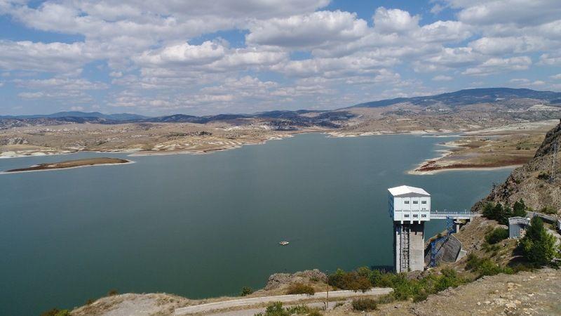Ankara'daki barajlarda geçen yıla kıyasla 50 milyon metreküp daha az su var