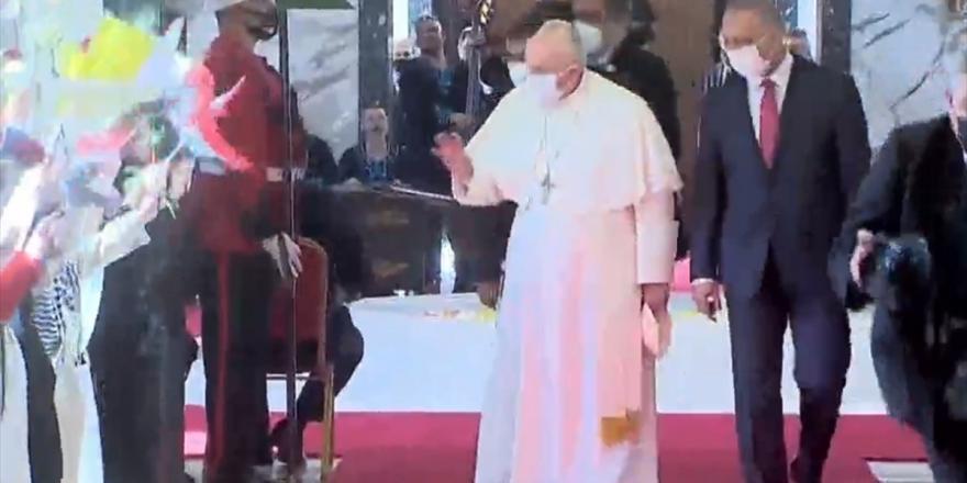 Papa Franciscus Bağdat'ta