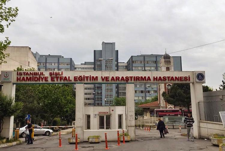 Şişli Etfal Hastanesi'nin taşınmasına karşı eylem