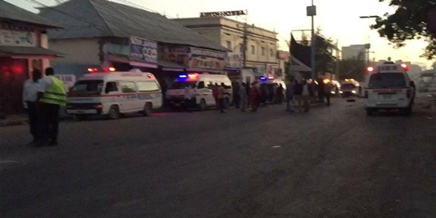 Somali'de bombalı araçla saldırı: 20 ölü