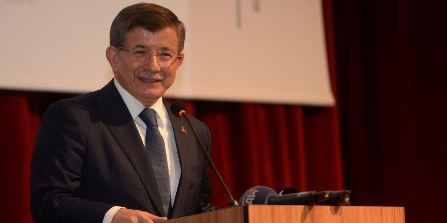 Prof. Dr. Ahmet Davutoğlu Ankara'da konuştu