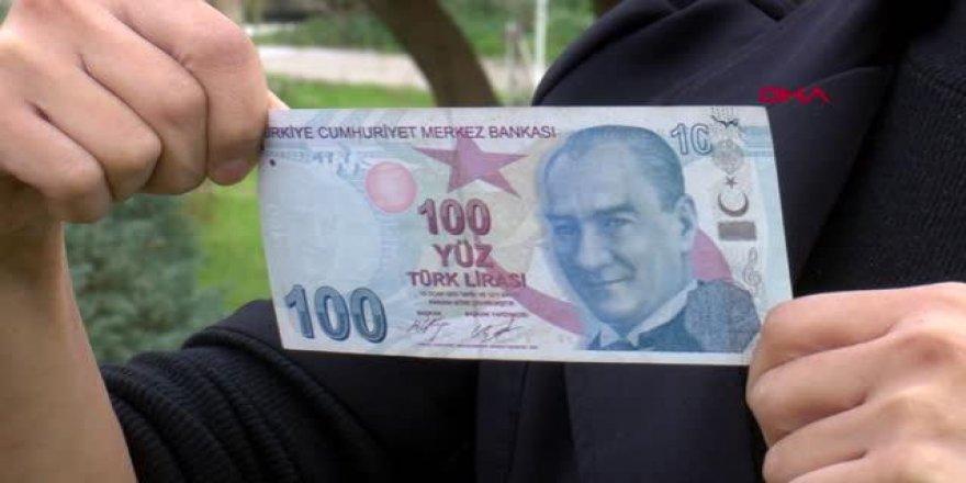 Hatalı basım 100 lirayı, kanser hastası çocukların tedavisi için satmak istiyor