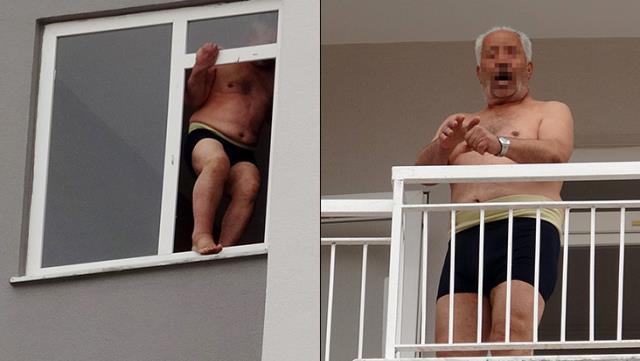 Komşulara cinsel organını gösteren adam, iki saat sonra soyunup intihara kalkıştı