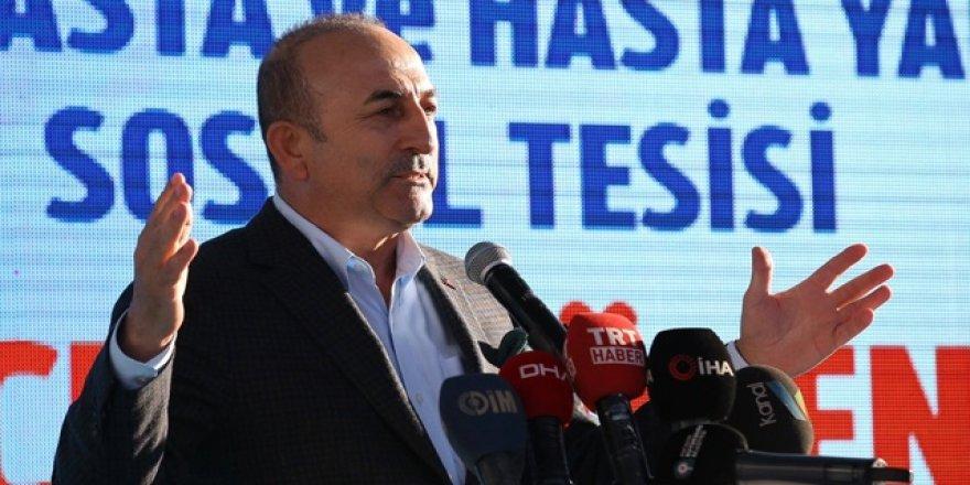 """Çavuşoğlu 2023 için """"70 milyon turist, 70 milyar dolar gelir"""" hedefini belirledi"""