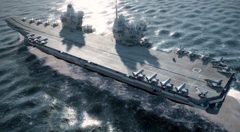 GAVIN WILLIAMSON: ''HMS QUEEN ELIZABETH UÇAK GEMİSİ 2021'DE F-35 SAVAŞ UÇAĞI FİLOSU İLE PASİFİK OKYANUSUNA GÖNDERİLECEK''