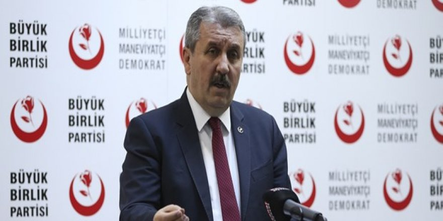 BBP 30 büyükşehirde Cumhur İttifakı'nı destekleyecek