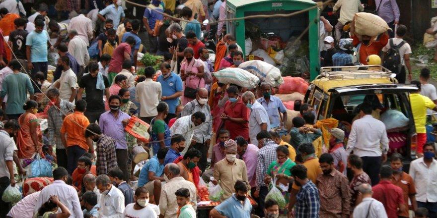 Günlük vaka sayısında zirve Hindistan!