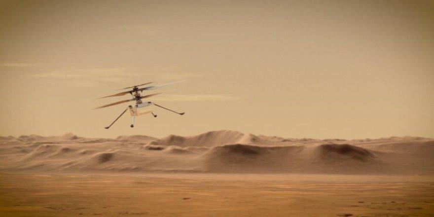 Ingenuity, Mars'tan ilk renkli fotoğrafı gönderdi