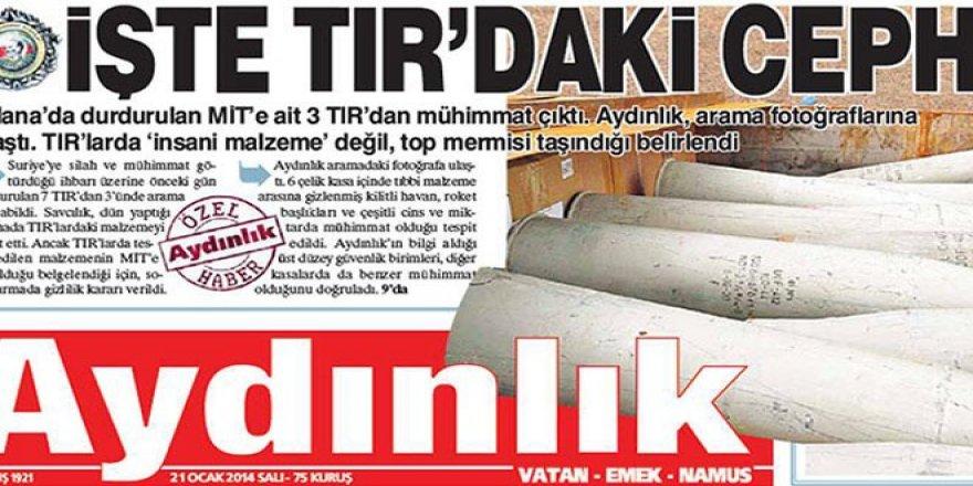 Aydınlık yöneticilerine açılan MİT TIR'ları davası düştü
