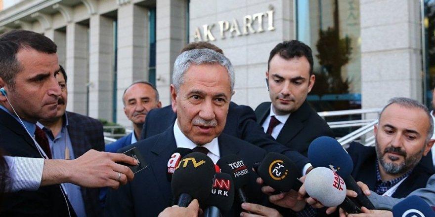 Arınç: Affetmeyeceğim tek şey AK Parti'nin karşısında başka bir parti kurmaları