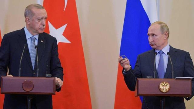 Putin ve Erdoğan, Ukrayna'daki gerginliği görüştü