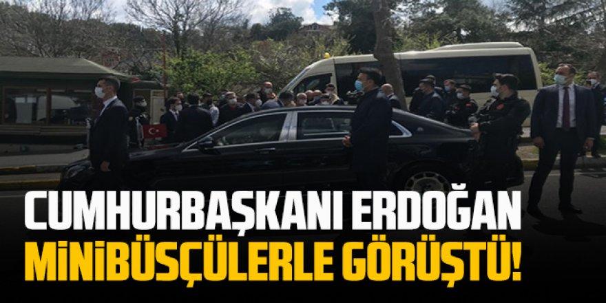 Minibüsçüler Erdoğan'a böyle dert yandı: Arabaları satacak duruma geldik