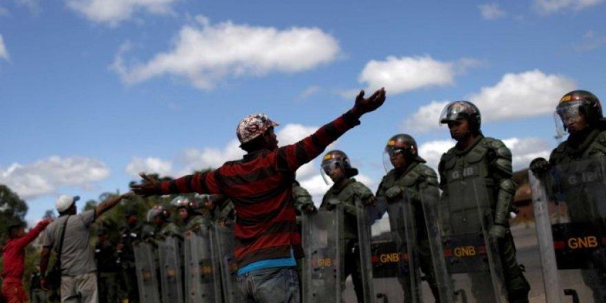Venezuela'da çatışma: 2 kişi öldü