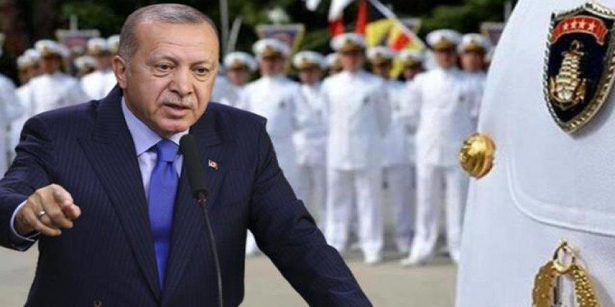 Cumhurbaşkanı Erdoğan'dan bildiriye imza atan amirallerle ilgili talimat! Rütbe sökme kriterleri inceleniyor