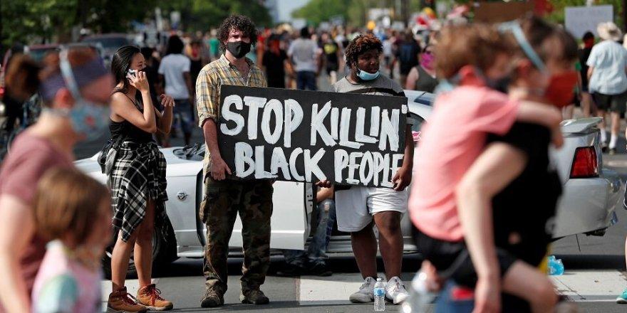 ABD'nin Minnesota eyaletinde polis yine bir siyah vatandaşı öldürdü, halk sokağa döküldü