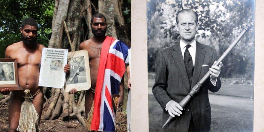 Prens Philip'i kutsal gören Vanuatu kabilesinde yas