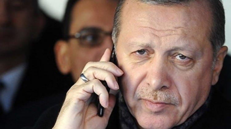 CUMHUR BAŞKANIN'DAN MABEL MATİZ'E TAZİYE TELEFONU