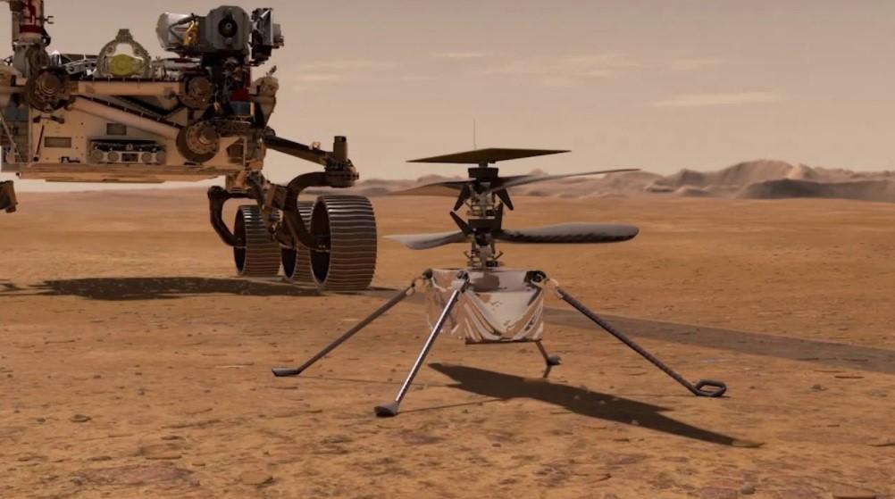 NASA, Mars'ta helikopter uçurdu