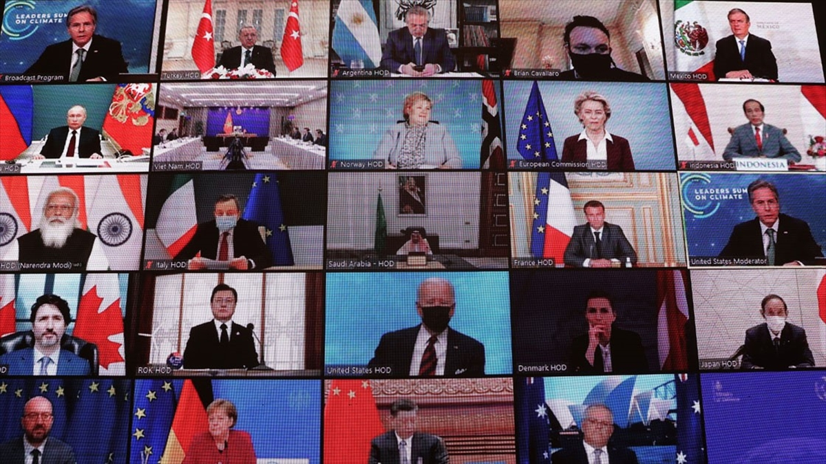İklim Zirvesi'nde Liderler 'Karbon Nötr' Olma Hedefini Vurguladı