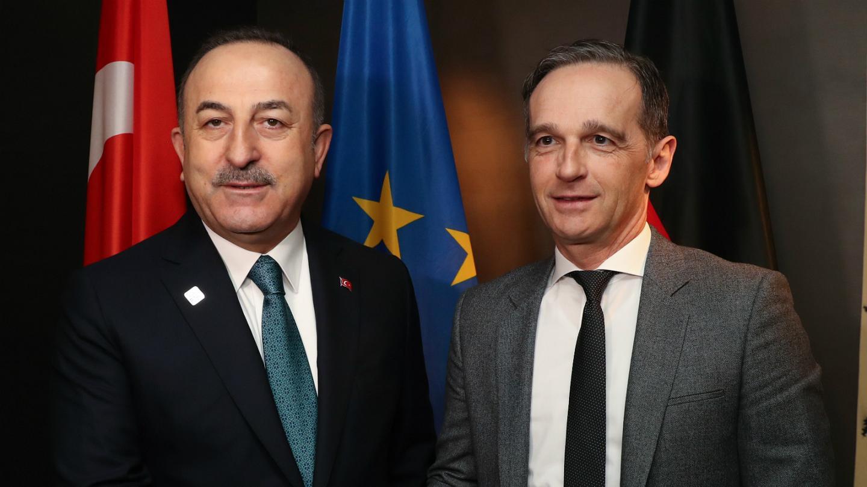 Alman mevkidaşı Maas ile görüşen Çavuşoğlu: Koskoca AB protokol yüzünden kavga etmemeli