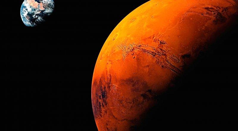 MARS'TA DAHA ÖNCE BUZLU VE YÜKSEK İRTİFALI BULUTLARDAN OLUŞAN İNCE BİR KATMAN, SERA ETKİSİ MEYDANA GETİRMİŞ OLABİLİR