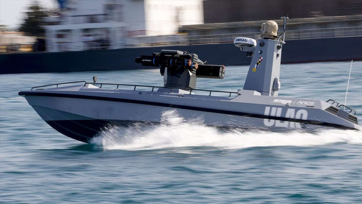 Türkiye'nin İlk Silahlı İnsansız Deniz Aracı, Füze Atışlarına Hazır