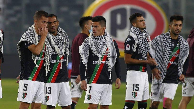 Şili'den Filistin halkına puşili destek!