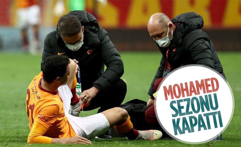 Galatasaray'da Mostafa Mohamed sezonu kapattı