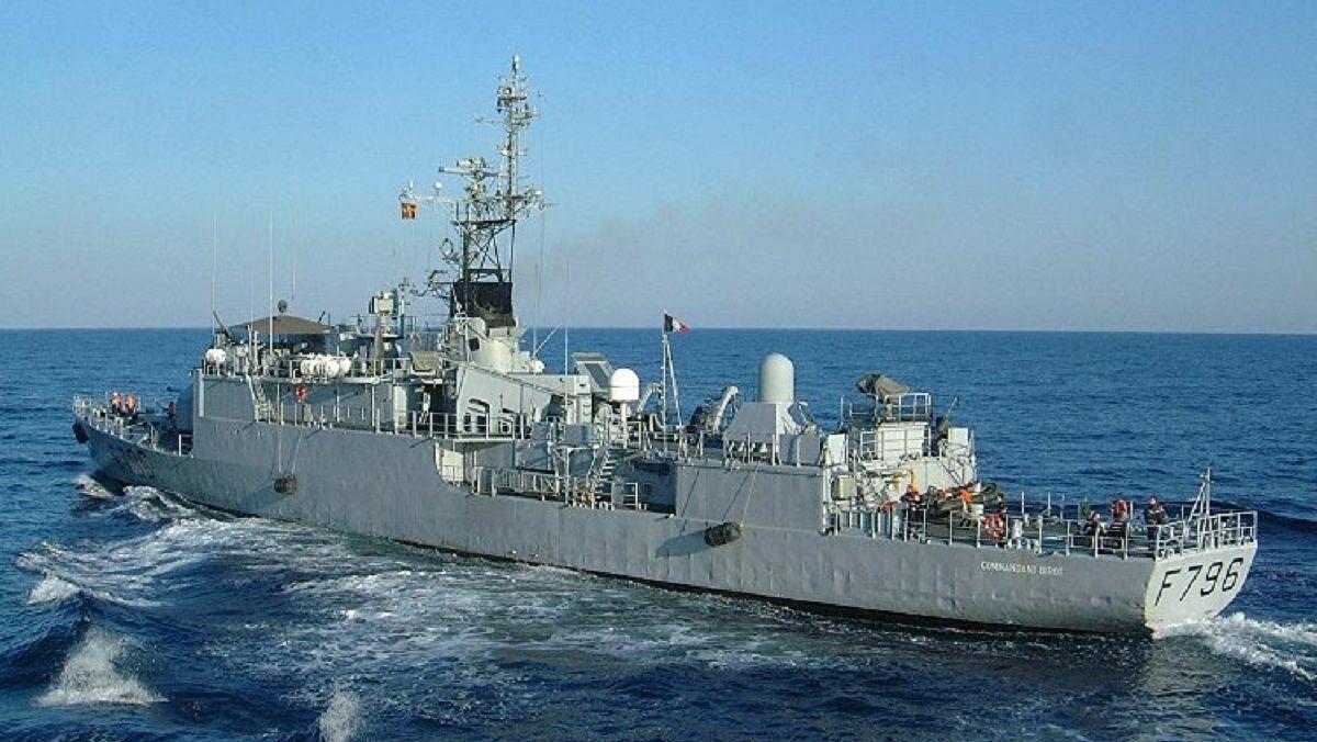 Fransız devriye gemisi Karadeniz'e girdi