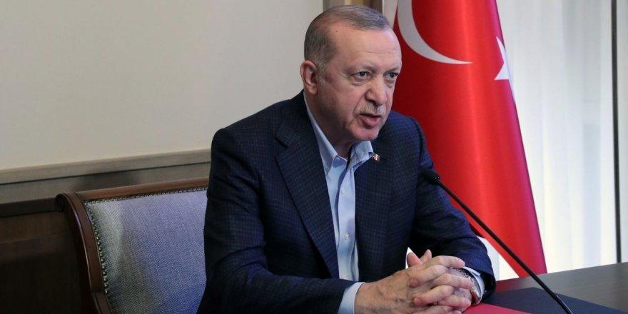 Erdoğan, esnaftan helallik istedi
