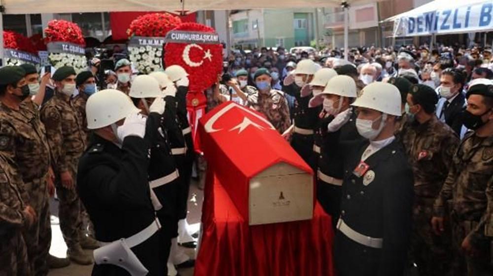 Şehit polis memuru Veli Kabalay, son yolculuğuna uğurlandı