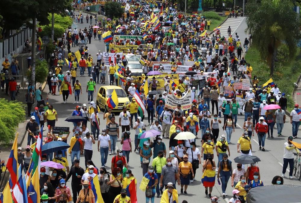 Kolombiya'da uzlaşma sağlanamadı: Hükümet karşıtları tekrar sokakta